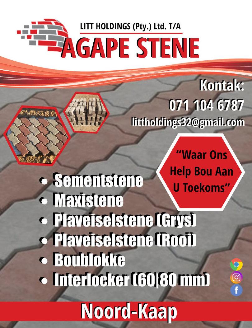 Business Listing for Littholdings t /a Agape Stene