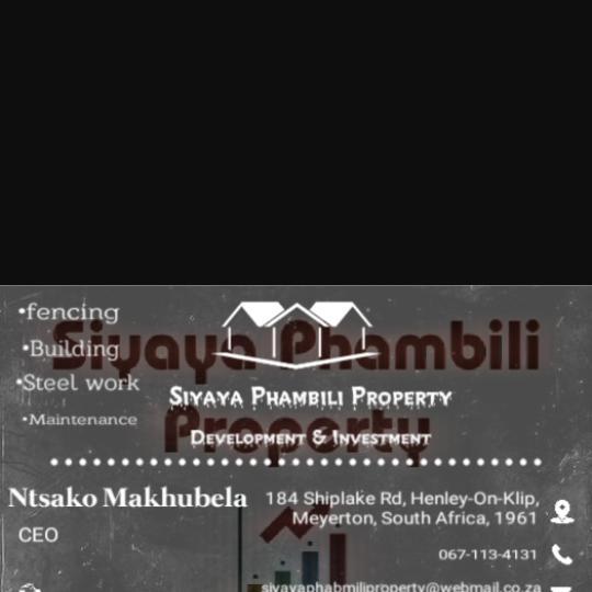 Business Listing for Siyaya Phambili Property Development and Investment