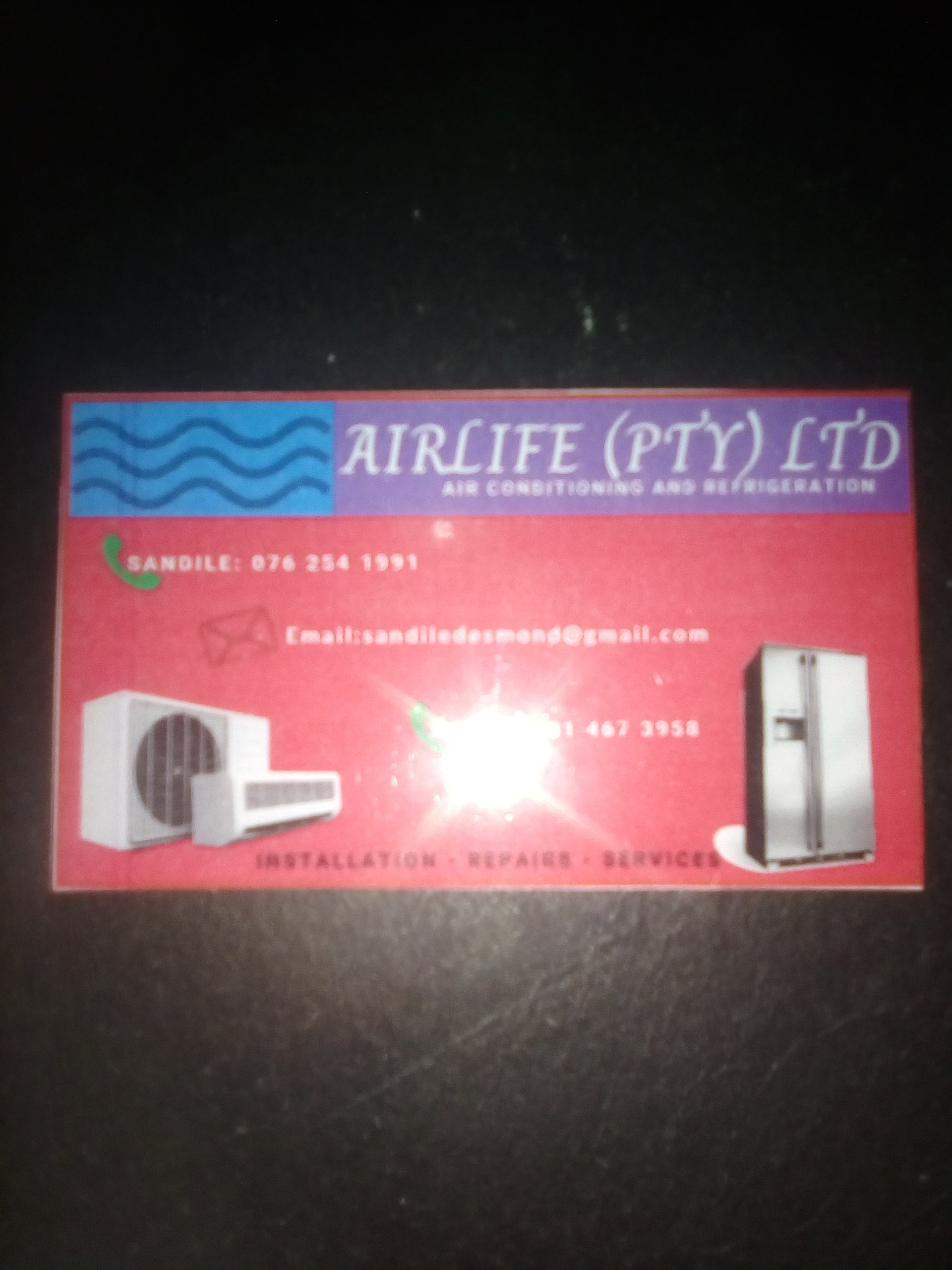 Business Listing for air life air-conditioning and refrigeration