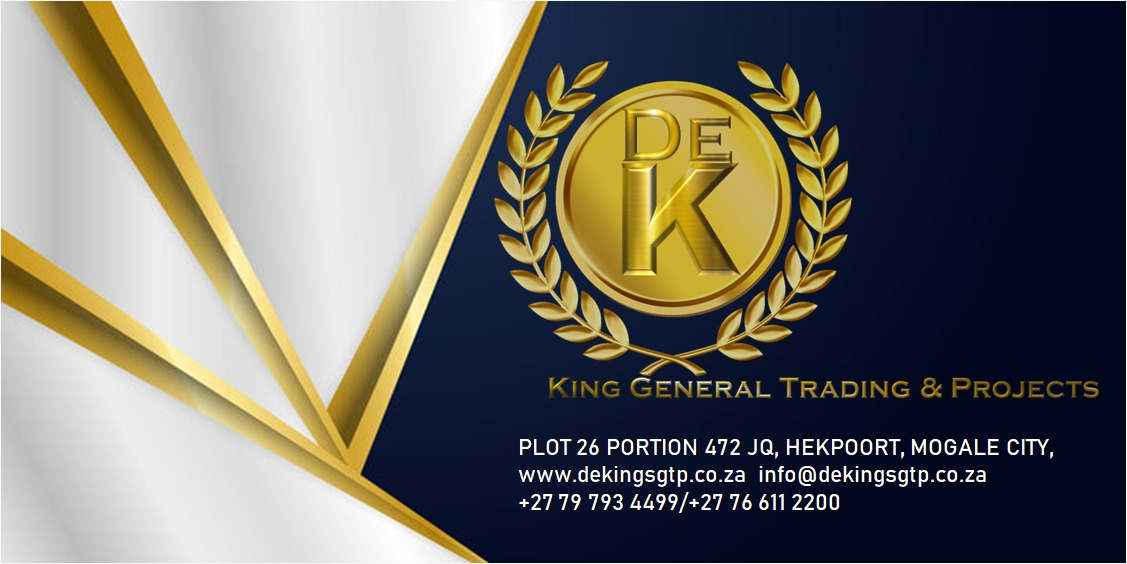 Business Listing for De King General Trading & Projects
